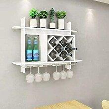 Modernes Weinregal Moderner Wandhalter für