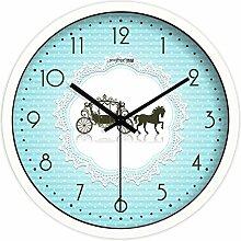 Modernes wohnzimmer im europäischen stil/stille uhr tisch/haushaltsdekoration/schlafzimmer creative wall clock-C 10Zoll