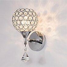 Modernes Wohnzimmer Luxus led Kristall Wandleuchte minimalistischen Schlafzimmer Wand Lampe am Bett Wandleuchte Spiegel vordere Lampe