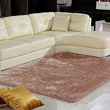 Modernes Wohnzimmer Teppich Eindickung ultradichte Teppich Bettwäsche Teppich Bettvorleger Nicht Verblassen Fusselfreie 140 * 200CM