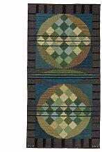 Modernistischer Schwedischer Flachgewebe Teppich