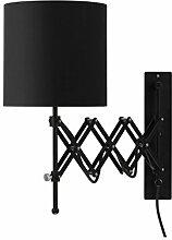 Modernluci Wandlampe, mit Schalter und Stecker,