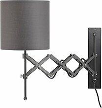 Modernluci Wandlampe mit Schalter und Stecker,