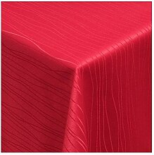 MODERNO Tischdecke Stoff Textil Tafeldecke Damast
