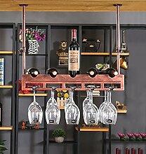 MoDi Weinregale Weinregal hängende Weinglasrahmen