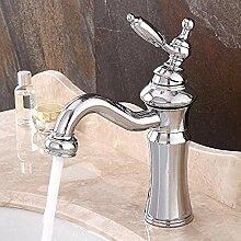 Modische Armatur Bad verchromt Mixer Einhand