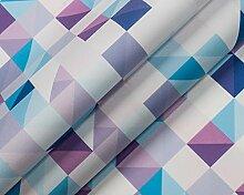Modische Druckmotive im digitalen Direktdruck, 0,50 lfm Polster- oder Dekostoff mit Muster oder Grafiken - WÜRFEL 03/78