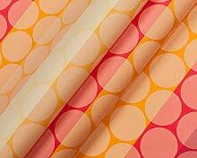 Modische Druckmotive im digitalen Direktdruck, 0,50 lfm Polster- oder Dekostoff mit Muster oder Grafiken - PUNKT 05/60