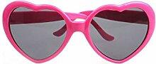 Modische Herzform Sonnenbrille kunststoffrahmen