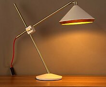 modische vintage-lampe, untersuchung,