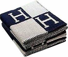 Modische Wolldecke, Komfortable H-pattern Wolle