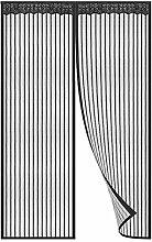 MODKOY FliegengitterTür 80x180cm, Magnetischer