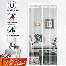 MODKOY Magnetischer Türvorhang 120x200cm,