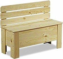 MODO24 Truhe Holztruhe Holzbank Truhenbank