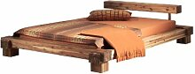 Modular cal160.41 Bett Cali / 160 x 200 cm / Akazie massiv, natur gewachs