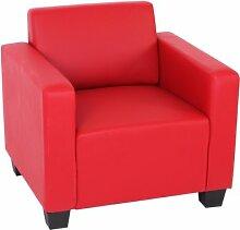 Modular Sessel Loungesessel Lyon, Kunstleder ~ ro