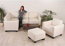 Modular Sofa-System Couch-Garnitur Lyon 4-1-1,