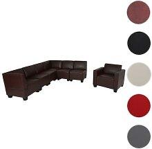 Modular Sofa-System Couch-Garnitur Lyon 6-1,