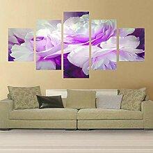 Modulares Bild für Wohnzimmer Poster 5 Panel