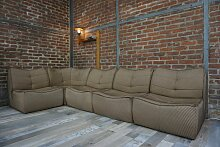 Modulares Vintage Sofa