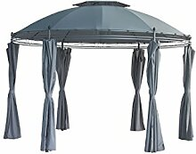 Möbel Akut Rund-Pavillon Festzelt Gartenpavillon