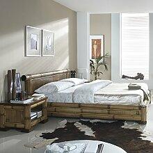 Möbel Bressmer Bambusmöbel Bett aus Bambus NAKO