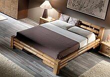 Möbel Bressmer Hochwertiges Bambus Bett 140x200