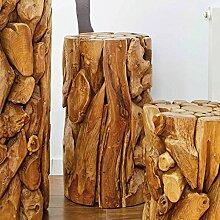 Möbel Bressmer Holzsäule Blumensäule Holz