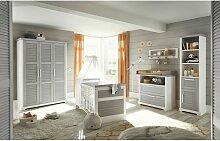 Möbel-direkt - Babyzimmer Alma 6 teilig in Pinie
