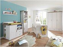 Möbel-direkt.de - %SALE% Babyzimmer Luca 4 teilig