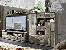 moebel-eins BALI Highboard Driftwood