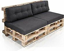 moebel-eins PALETTI 2-Sitzer Sofa aus Paletten