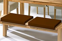 moebel-eins Sitzkissen/Klemmkissen für Sitzbank,