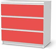 Möbel-Folie für IKEA Malm 3 Schubladen |