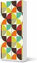 Möbel-Folie für IKEA Pax Schrank 236 cm Höhe - 2 Türen | Bild Deko Möbel-Sticker Folie | Zimmer verschönern Wohnung accesoire | Design Motiv Equality