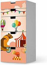 Möbel-Folie für IKEA Stuva Kommode Kommode - 5 Schubladen   Folie Kleinkind-Zimmer Accessoires   Fröhliche Einrichtungsideen Erlebnisraum Wohnideen   Kids Kinder Bärenstark