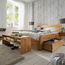 Möbel für Schlafzimmer Kernbuche Massivholz