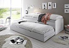 moebel-guenstig24.de Bett Einzelbett Ausziehbett