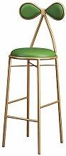Möbel Hocker Barhocker Stuhl mit Bowknot-Rücken