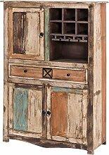 MÖBEL IDEAL Highboard Largo Schrank im Vintage