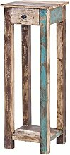 MÖBEL IDEAL Telefontisch Vintage Holz Bunt 30 x