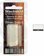 Möbel-Korrektur Wachskitt-Stange (weiss)