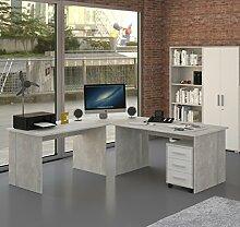 Büromöbel Eckschreibtisch Günstig Online Kaufen Lionshome