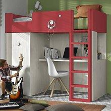 Hochbett Mit Schreibtisch Und Schrank günstig online kaufen | LionsHome