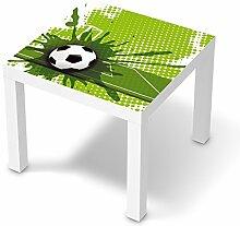 Möbel-Sticker Folie für IKEA Lack Tisch 55x55 cm   Dekorationsaufkleber Baby-möbel Design   Fröhliche Einrichtungsideen Kinderzimmer Möbel Innendekoration   Kids Kinder Goal