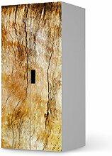 Möbel-Sticker Folie für IKEA Stuva Kommode Schrank - 2 große Türen | Sticker Dekorfolien Möbel-Tattoo | Einrichtung umgestalten Dekor | Erholung Wellness Unterholz
