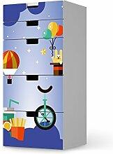 Möbel-Tattoo für IKEA Stuva Kommode Kommode - 5 Schubladen   Klebefolie Kindermöbel Design   Deko Ideen IKEA Möbel für Kinder-Zimmer Raumgestaltung   Kids Kinder Schlummerland