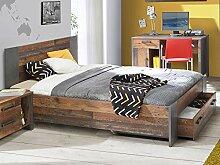 möbelando Bett Jugendbett Bettrahmen Einzelbett
