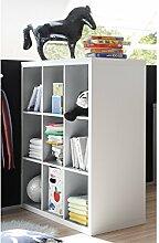 möbelando Raumteiler Bücherregal Raumtrenner