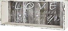möbelando Regal Beistellregal Wandboard